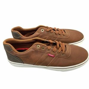 Levi's Brown Lace Up Sneaker Shoes Size US 12